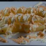 White Asparagus Two Sauces